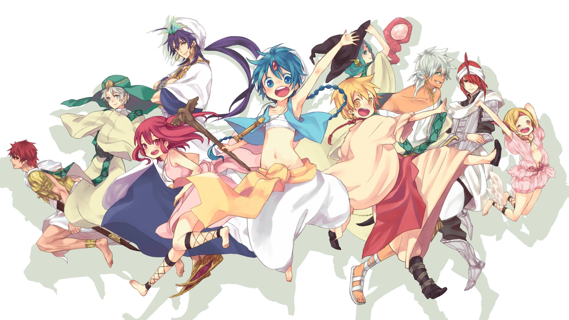 Magi The Labyrinth Of Magic images Magi. ~ <3 HD wallpaper and background photos