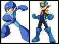 Mega Man and Megaman EXE