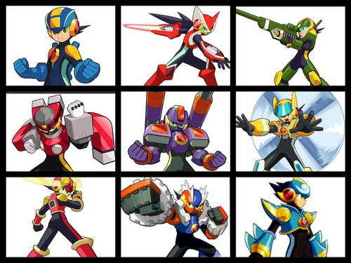 Megaman EXE2 Forms
