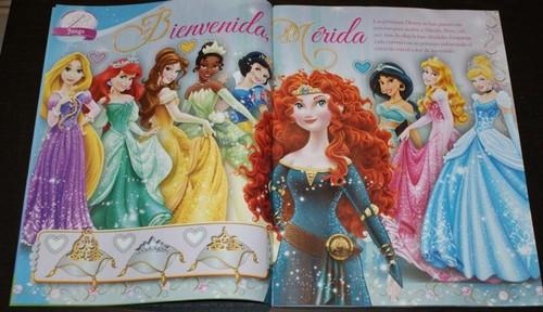Merida in Spanish Disney Princess magazine