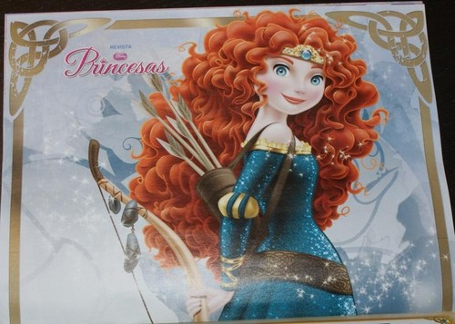 Merida in Spanish ডিজনি Princess magazine