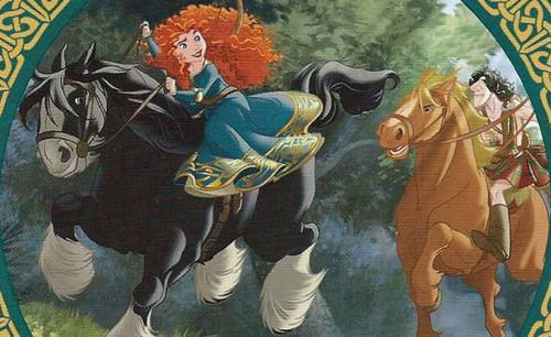Merida in The Legend of the Esmeralds book