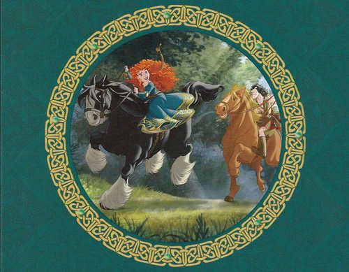 Merida in The Legend of the Esmeralds book