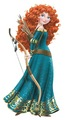 Merida with Bow and Arrows