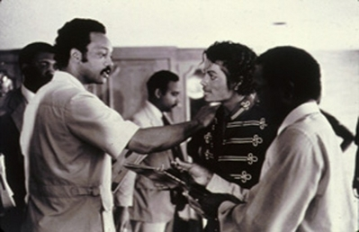 Michael And Jese Jackson