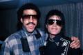 Michael And Lionel Richie - michael-jackson photo