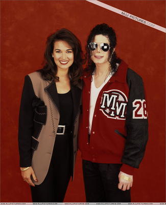 Michael With A fan
