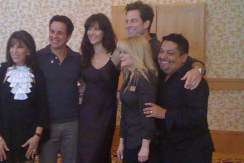 Michael and Cast of Y&R