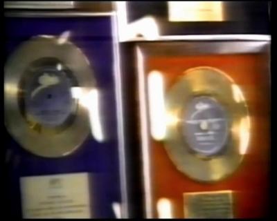 Michael's Assortment Of Platinum Records