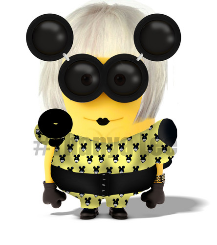 Despicable Me Minions wallpaper called Minion Gaga (Dave) Pt.2