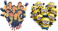 Minions' heart - despicable-me photo