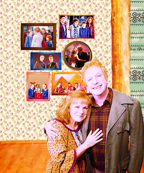 Molly and Arthur - The Weasley Family Fan Art (35185891 ...