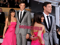Monchele Wallpaper - lea-michele-and-cory-monteith wallpaper