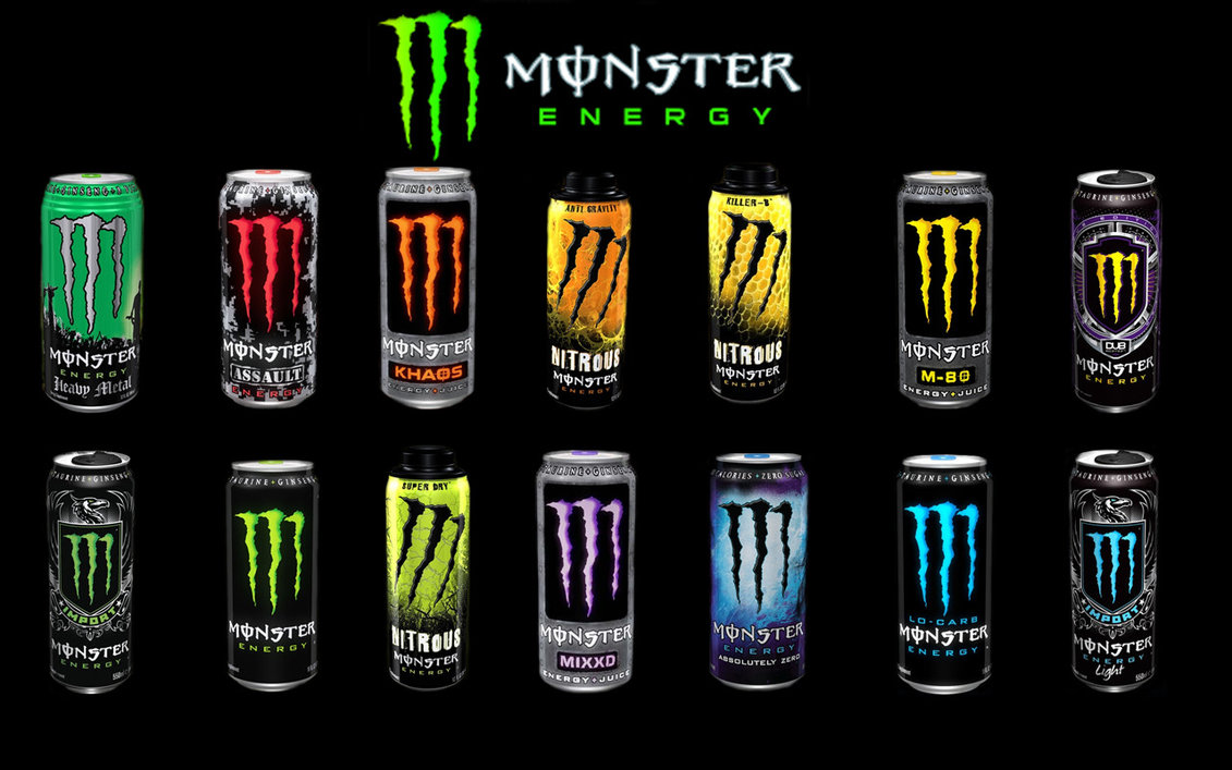 Mega Monster Energy Drink