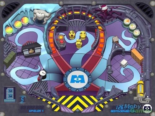 Monsters Inc.: Pinball Panic Mini Game