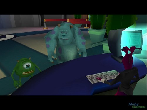 Monsters, Inc. Scare Island