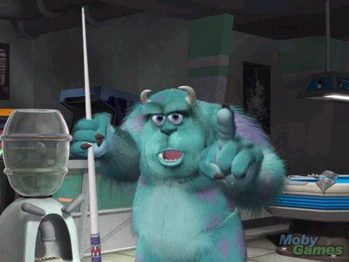 Monsters Inc.: Wreck Room Arcade: Eight Ball Chaos