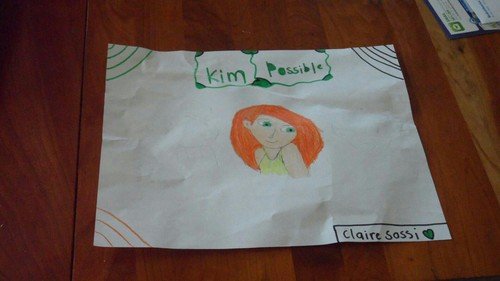 My Kim Possible drawing