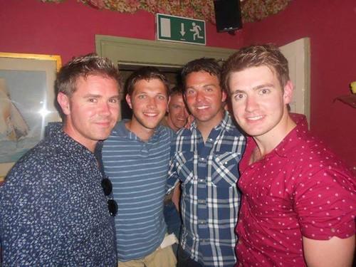 Neil, Colm, Ryan & Emmet