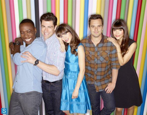 New Girl - Season 3 - Cast Promotional fotografias