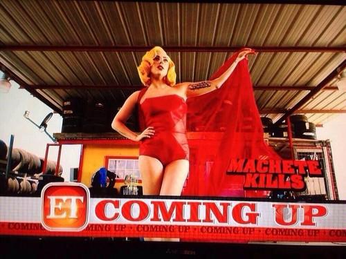 New Image of Gaga as La Chameleón in Machete Kills