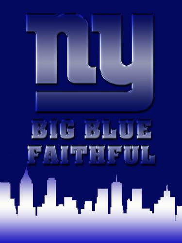 New York Giants - Big Blue Faithful