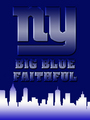 New York Giants - Big Blue Faithful - new-york-giants fan art