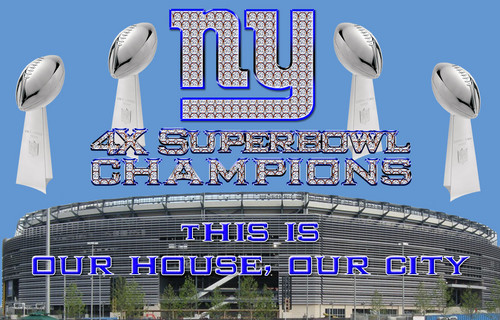 New York Giants - This is our house