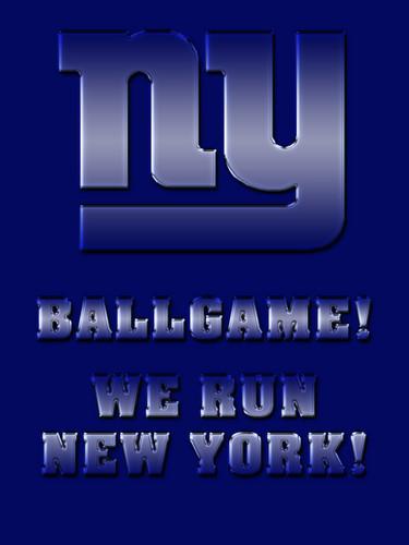 New York Giants - We Run New Yor