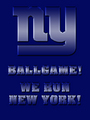 New York Giants - We Run New Yor