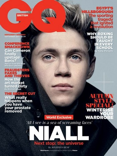Niall GQ Magazine UK