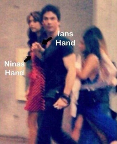 Nian Holding Hands