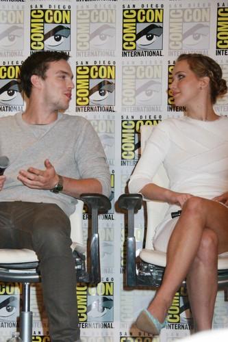 Nicholas and Jen at Comic-Con 2013