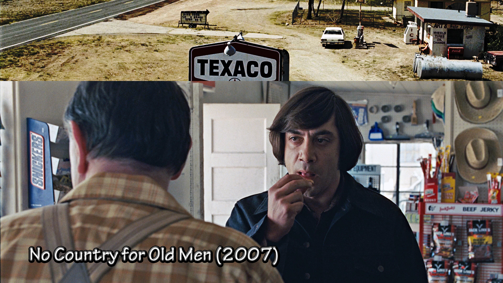 no country for old men film essay There's enough philosophical themes and issues explored in this film that a  textbook could be written about it.