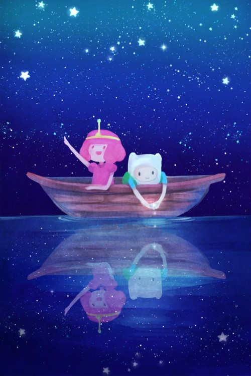 On Boat...Under The Stars