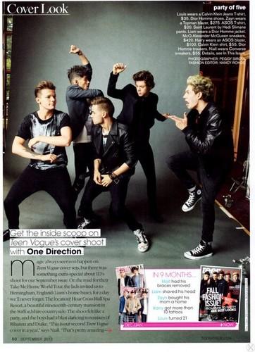 One Direction GQ magazine scan