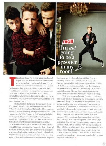 One Direction GQ magazine scan