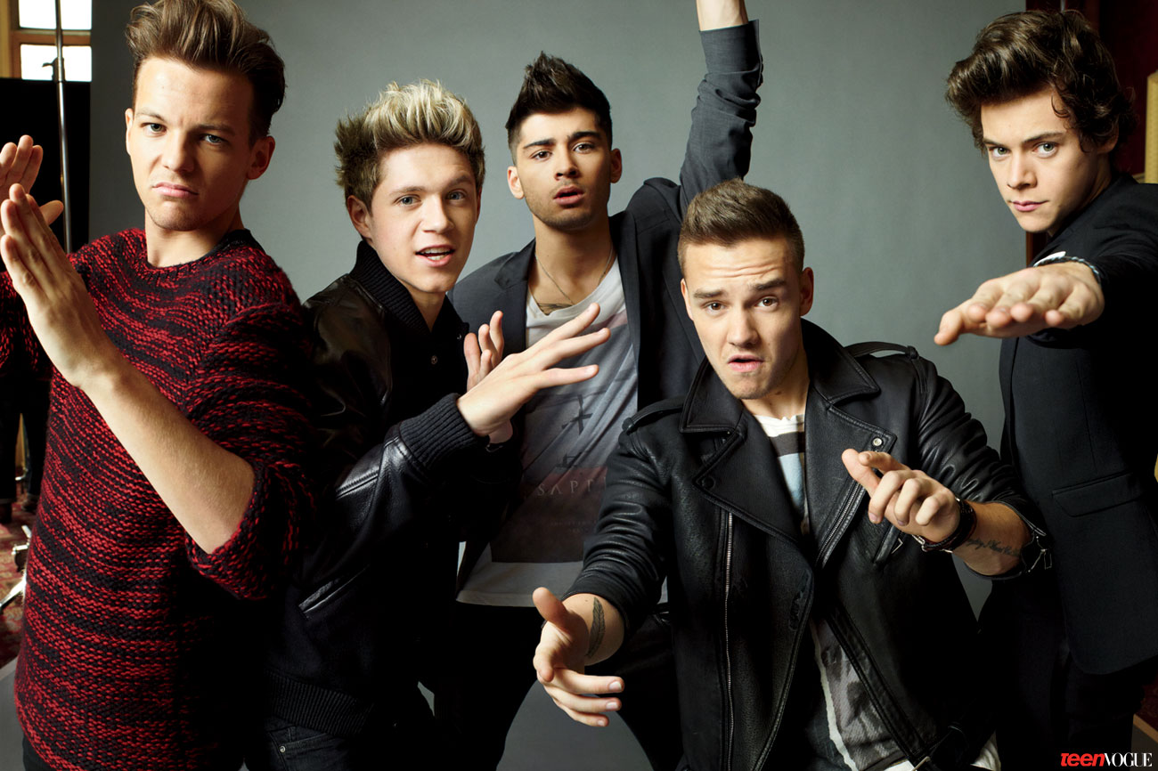 One Direction for Teen Vogue
