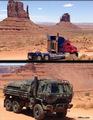 Optimus and Hound