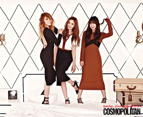 কমলা দগ্ধ শর্করা - Cosmopolitan Korea August Issue '13