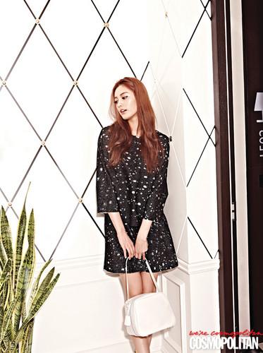 arancia, arancio caramello - Cosmopolitan Korea August Issue '13