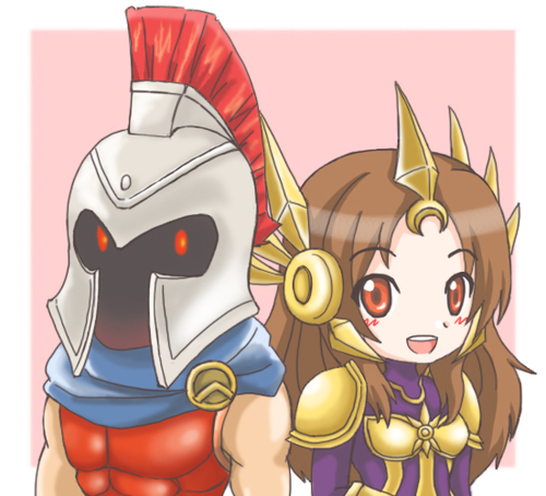 Pantheon and Leona