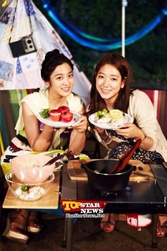 Park Shin Hye & Park Se Young