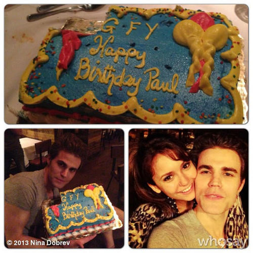 Paul's bday party