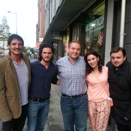 Pedro Pascal, Kit Harington, Sibel Kekilli, and John Bradley