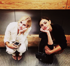 Phoebe & Claire at Comic Con 2013
