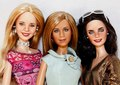 Phoebe, Rachel and Monica dolls