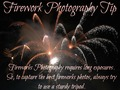 Firework Photography Tip - photography photo