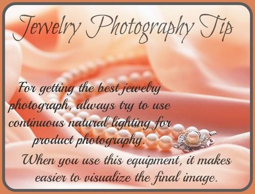 Jewelry fotografía Tip