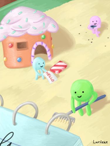 Playing Glob